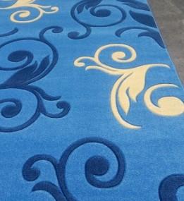 Синтетическая ковровая дорожка Legenda 0391 синий