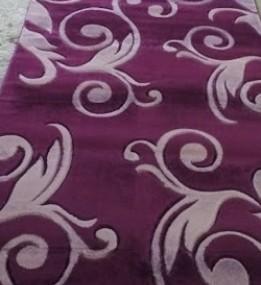 Синтетическая ковровая дорожка Legenda 0391 фиолетовый