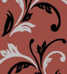 Синтетическая ковровая дорожка Melisa 371 red