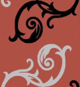 Синтетическая ковровая дорожка Melisa 395 red
