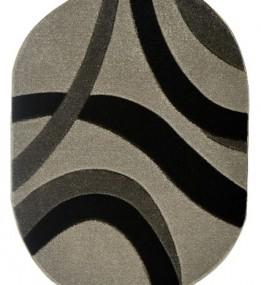 Синтетична килимова доріжка Melisa 355 grey