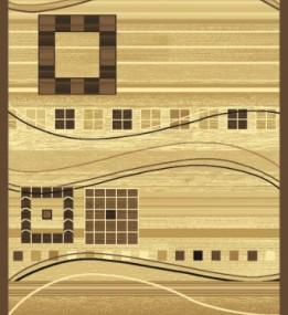 Синтетична килимова доріжка Neva 0111 Beige-brown