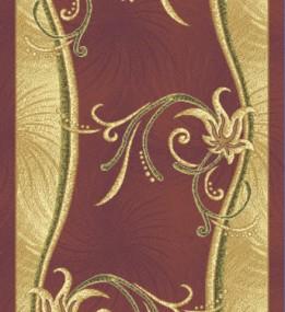 Синтетична килимова доріжка Neva N 185 bordo