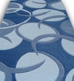 Синтетическая ковровая дорожка Raduga 12288 , BLUE