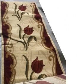 Синтетична килимова доріжка Selena 5750 , RED