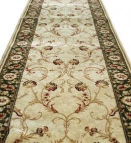 Синтетическая ковровая дорожка Selena / Lotos 523-130 green
