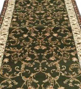 Синтетическая ковровая дорожка Selena / Lotos 523-310 green