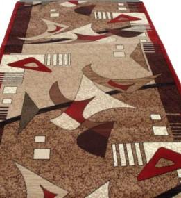 Синтетична килимова доріжка Silver  / Gold Rada 106-122 Euro red