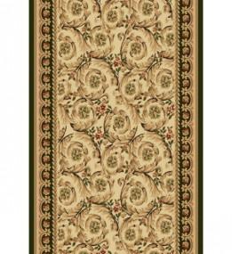 Синтетическая ковровая дорожка Selena / Lotos 539-130 green