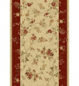 Синтетична килимова доріжка Selena / Lotos 551-120 red