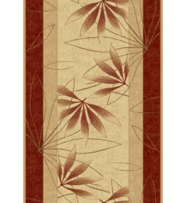 Синтетическая ковровая дорожка Selena / Lotos 552-120 red