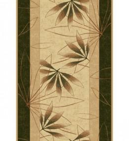 Синтетическая ковровая дорожка Selena / Lotos 552-130 green