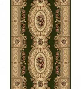 Синтетическая ковровая дорожка Selena / Lotos 567-310 green