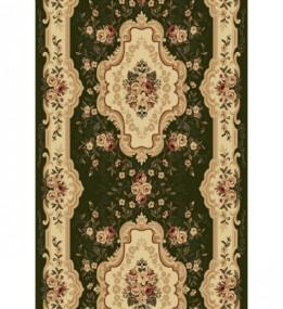 Синтетическая ковровая дорожка Selena / Lotos 570-310 green