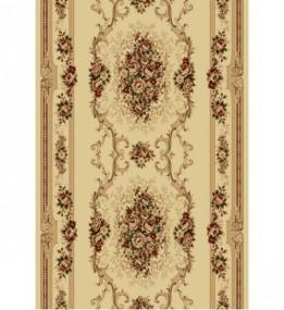 Синтетическая ковровая дорожка Selena / Lotos 574-100 beige