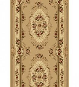 Синтетическая ковровая дорожка Selena / Lotos 575-110 beige