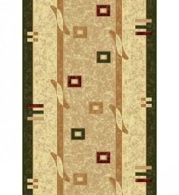 Синтетическая ковровая дорожка Selena / Lotos 579-130 green