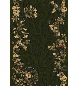 Синтетична килимова доріжка Selena / Lotos 590-330 green