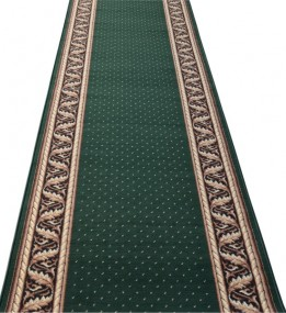 Кремлевская ковровая дорожка Silver / Gold Rada 362-32 green Рулон