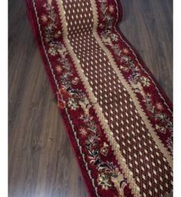 Синтетическая ковровая дорожка Silver 158 , RED