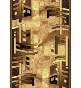 Синтетична килимова доріжка Silver  / Gold Rada 140-12 brown