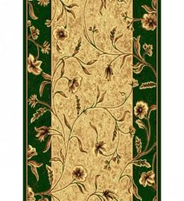 Синтетична килимова доріжка Silver  / Gold Rada 171-32 green