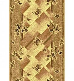 Синтетическая ковровая дорожка Silver  / Gold Rada 302-12 beige