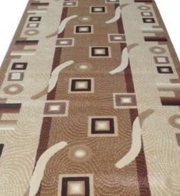 Синтетическая ковровая дорожка Silver  / Gold Rada 579-110 Kubik beige