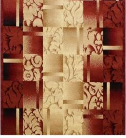 Синтетическая ковровая дорожка Super Elmas 5131C ivory-d.red