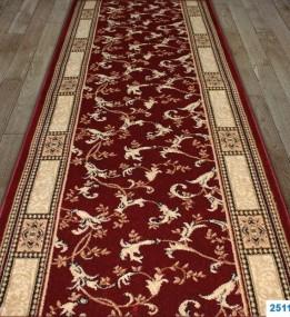Синтетична килимова доріжка Super Elmas 2511C red-ivory
