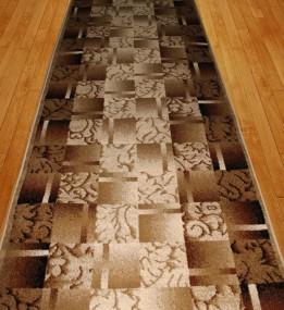 Синтетическая ковровая дорожка Super Elmas 5131C ivory-brown