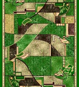 Синтетическая ковровая дорожка Zeynep 508 , GREEN