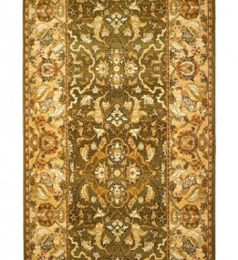 Шерстяная ковровая дорожка Hetman olive - высокое качество по лучшей цене в Украине.