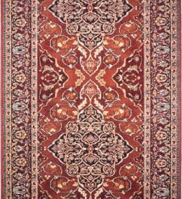 Шерстяная ковровая дорожка ISFAHAN Leyla ruby