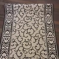 Безворсовая ковровая дорожка  129724, 2.00 x 2.66
