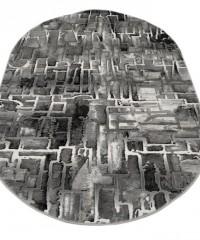 Акриловый ковер 120922 1.60x2.30 овал