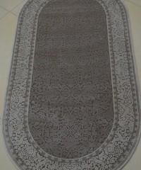 Акриловый ковер 110989 0.80х1.50 овал