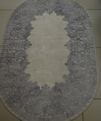 Акриловый ковер 120917 2.00x2.90 овал