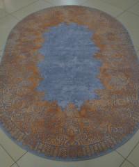 Акриловый ковер 120919 1.65x2.30 овал