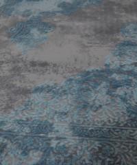 Акриловый ковер 120928 1.65x2.30 овал