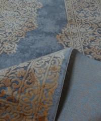 Акриловый ковер 120929 1.65x2.30 овал