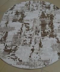 Акриловый ковер 128168 1.60x2.30 овал