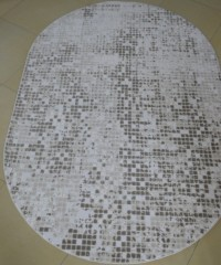 Акриловый ковер 127781 1.60x2.35 овал