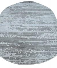 Акриловый ковер 110973 1.65х2.30 овал