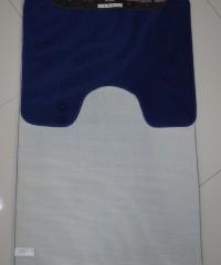 Коврик для ванной 128873 комплект синий