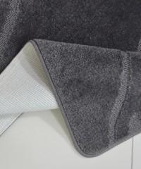 Килим для ванної 128873 комплект сірий