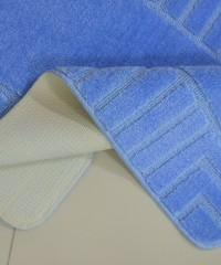 Килим для ванної 128873 комплект голубий