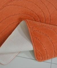 Килим для ванної 128873 комплект помаранчевий