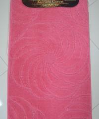 Килим для ванної 128873 комплект рожевий
