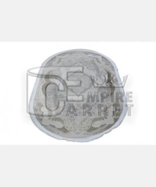 Акриловый ковер 128819 1.50x2.30 овал - imperiakovrov.com